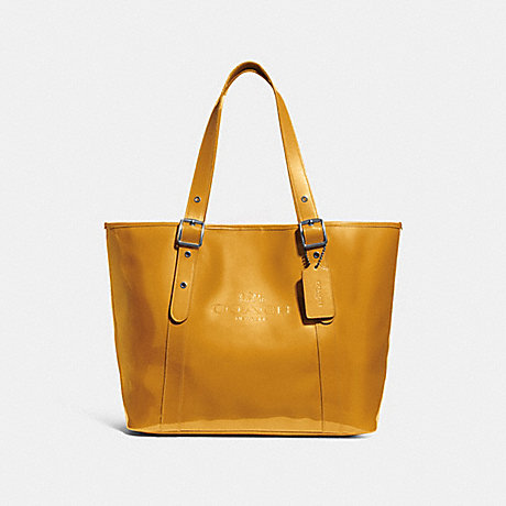 COACH FERRY TOTE - CANARY/BLACK ANTIQUE NICKEL - f28471