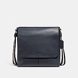 CHARLES SMALL MESSENGER - NICKEL/MIDNIGHT NAVY - COACH F28576
