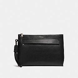 COACH CARRYALL POUCH - BLACK - F28614