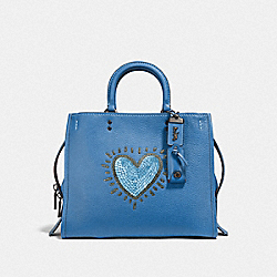 COACH X KEITH HARING ROGUE - BP/SKY BLUE - COACH F28637