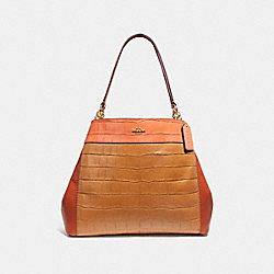 LEXY SHOULDER BAG IN COLORBLOCK - IMMU4 - COACH F28933