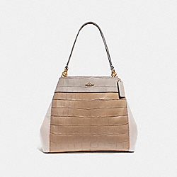 LEXY SHOULDER BAG IN COLORBLOCK - IMNSF - COACH F28933
