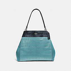 LEXY SHOULDER BAG IN COLORBLOCK - SVNGV - COACH F28933