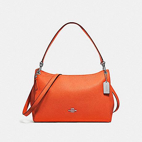 COACH MIA SHOULDER BAG - CORAL/SILVER - F28966