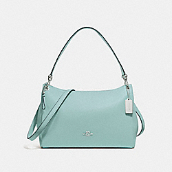 MIA SHOULDER BAG - SEAFOAM/SILVER - COACH F28966