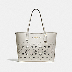 CITY TOTE - CHALK/IMITATION GOLD - COACH F28973