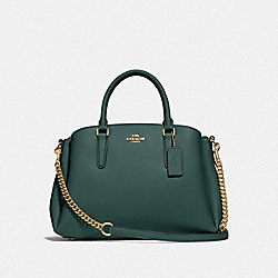 SAGE CARRYALL - IM/EVERGREEN - COACH F28976