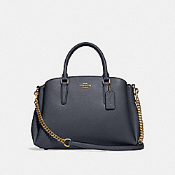 SAGE CARRYALL - MIDNIGHT/LIGHT GOLD - COACH F28976
