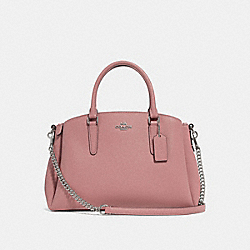 SAGE CARRYALL - DUSTY ROSE/SILVER - COACH F28976