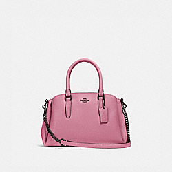 MINI SAGE CARRYALL - QB/PINK ROSE - COACH F28977