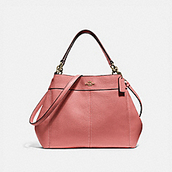 SMALL LEXY SHOULDER BAG - MELON/LIGHT GOLD - COACH F28992