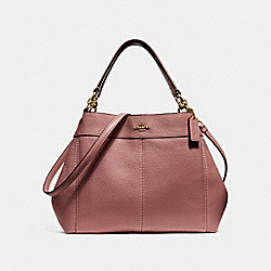 SMALL LEXY SHOULDER BAG - VINTAGE PINK/IMITATION GOLD - COACH F28992