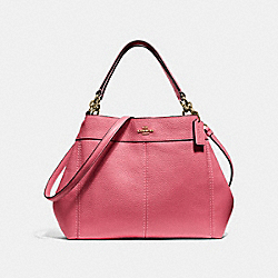 SMALL LEXY SHOULDER BAG - PEONY/LIGHT GOLD - COACH F28992
