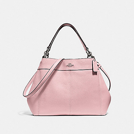 COACH SMALL LEXY SHOULDER BAG - PETAL/SILVER - F28992