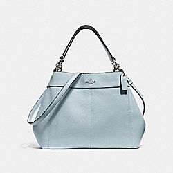 SMALL LEXY SHOULDER BAG - SILVER/PALE BLUE - COACH F28992