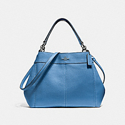 SMALL LEXY SHOULDER BAG - SKY BLUE/SILVER - COACH F28992