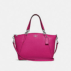 SMALL KELSEY SATCHEL - CERISE/SILVER - COACH F28993