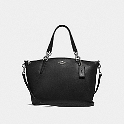 SMALL KELSEY SATCHEL - BLACK/SILVER - COACH F28993