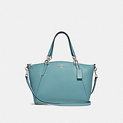 SMALL KELSEY SATCHEL - CLOUD/SILVER - COACH F28993