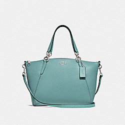 SMALL KELSEY SATCHEL - MARINE/SILVER - COACH F28993