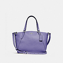 MINI KELSEY SATCHEL - LIGHT PURPLE/SILVER - COACH F28994