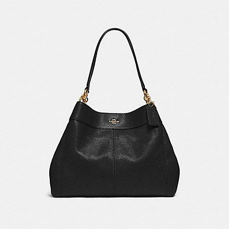 COACH LEXY SHOULDER BAG - BLACK/LIGHT GOLD - F28997