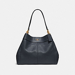 LEXY SHOULDER BAG - MIDNIGHT/IMITATION GOLD - COACH F28997