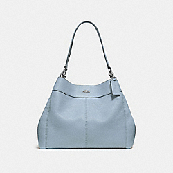 LEXY SHOULDER BAG - CORNFLOWER/SILVER - COACH F28997