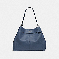 LEXY SHOULDER BAG - DENIM/SILVER - COACH F28997