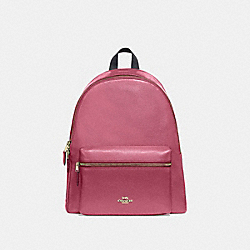 CHARLIE BACKPACK - ROUGE/GOLD - COACH F29004