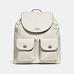 COACH BILLIE BACKPACK - CHALK/LIGHT GOLD - F29008
