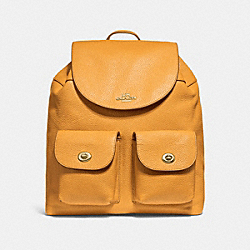 BILLIE BACKPACK - GOLDENROD/LIGHT GOLD - COACH F29008