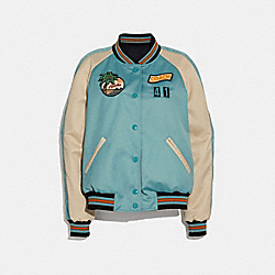 SCENIC REVERSIBLE SOUVENIR JACKET - SURF - COACH F29073