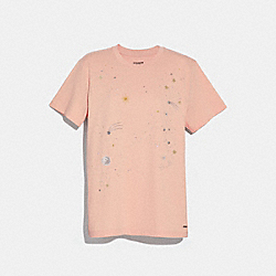 CONSTELLATION T-SHIRT - ROSECLOUD - COACH F29077