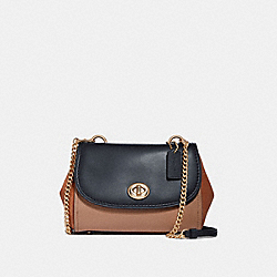 FAYE CROSSBODY IN COLORBLOCK - SUNRISE MULTI/LIGHT GOLD - COACH F29117