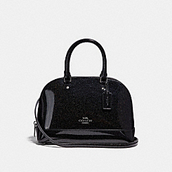 MINI SIERRA SATCHEL - ANTIQUE NICKEL/BLACK MULTI - COACH F29134