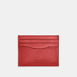 CARD CASE - TRUE RED - COACH F29140