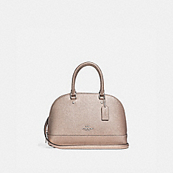 MINI SIERRA SATCHEL - PLATINUM/SILVER - COACH F29170
