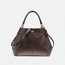 SMALL LEXY SHOULDER BAG - BRONZE/LIGHT GOLD - COACH F29174