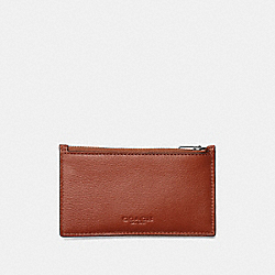 COACH ZIP CARD CASE - QBL6H - F29272