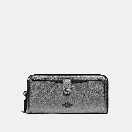 COACH MULTIFUNCTION WALLET WITH CONSTELLATION PRINT - ANTIQUE NICKEL/GUNMETAL - f29446