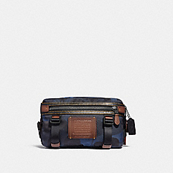 UTILITY PACK WITH WILD BEAST PRINT - DENIM/BLACK COPPER FINISH - COACH F29497