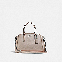 MINI SAGE CARRYALL - PLATINUM/SILVER - COACH F29665
