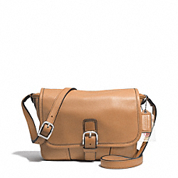 COACH HADLEY LEATHER FIELD BAG - SILVER/NATURAL - F29763