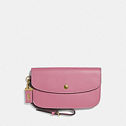 CLUTCH - ROSE/BRASS - COACH F29770