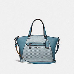 PRAIRIE SATCHEL WITH LEGACY PRINT - DK/CHAMBRAY - COACH F29848