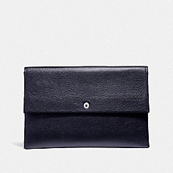 LARGE ENVELOPE POUCH - LI/NAVY - COACH F29880