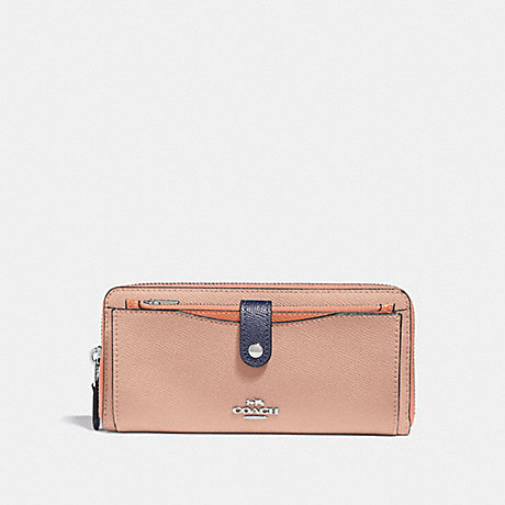 COACH MULTIFUNCTION WALLET IN COLORBLOCK - SUNRISE MULTI/light gold - f29940