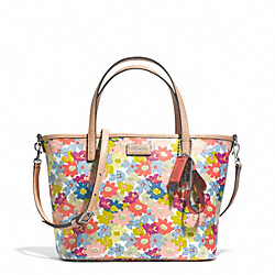 COACH METRO FLORAL PRINT SMALL TOTE - ONE COLOR - F29962