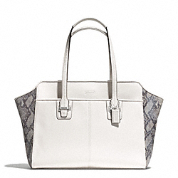 TAYLOR MIXED EXOTIC ALEXIS CARRYALL COACH F30142